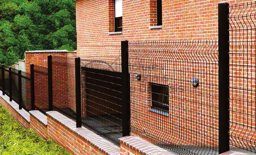 cloture panneau rigide axis sr 02 cloture du douaisis. Black Bedroom Furniture Sets. Home Design Ideas