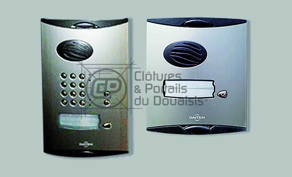 interphone visionneuse 07 cloture du douaisis. Black Bedroom Furniture Sets. Home Design Ideas